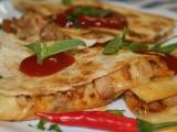 Sýrová quesadilla s kuřecím masem recept