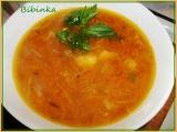 Celerovo-mrkvová polévka se šťouchanými bramborami recept ...