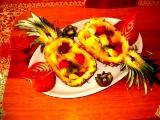 Plněný ananas recept