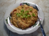 Vaječná smaženice s rajčaty recept