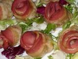 Růžičky z listového těsta recept