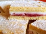 Linecký tvarohový koláč s pikantní marmeládou recept  TopRecepty ...