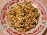 Rýže s cottage sýrem recept