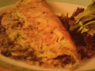 Omeleta s fines herbes
