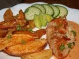 Kuřecí plátky s jemnou zeleninovou omáčkou recept