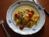 Kuřecí maso s rajčátky a meruňkami recept