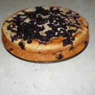 Borůvkový koláč s kefírem recept