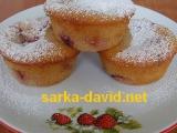 Kefírové jahodové muffiny recept