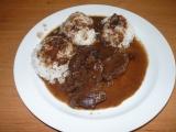 Jelení kýta se švestkovou omáčkou recept