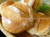 Naklíčené bulky (s pšeničnými klíčky) recept
