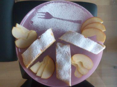 Máslový jablečný závin