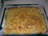 Sypaný jablečný koláč recept