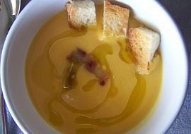 La soupe de potiron  dýňová polévka recept