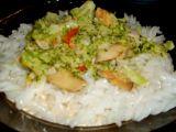 Brokolicová směs na rýžových těstovinách recept
