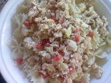 Těstoviny s tuňákem a zeleninou recept
