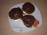 Větrníky s čokoládou recept