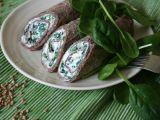 Pohankové palačinky se špenátem a ricottou recept