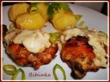 Pečené kuřecí porce s Loštickou omáčkou z tvarůžků recept ...