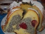 Vláčná tvarohová bábovka I. s ovocným středem recept ...