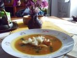 Jednoduchá polévka se zázvorem recept