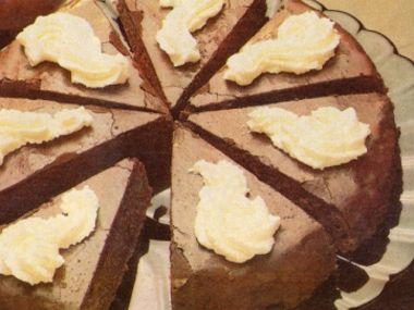 Kakaový jablkový dort  dia 19,2 S