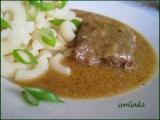 Hovězí roštěnky na cibuli recept