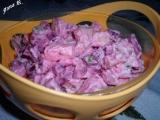 Bramborový salát s červenou řepou a jablky recept