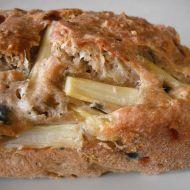 Sýrový chléb s chřestem recept