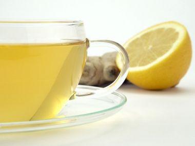 Zázvorový nápoj proti nachlazení