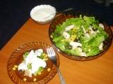Brokolicový salát s kuřecím masem a dresingem recept ...