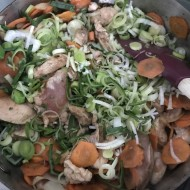 Čína s mrkví a pórkem recept