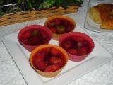 Ovocné želé dortíky recept