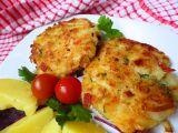 Květákovo-pórkové placičky se sýrem recept