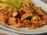 Kuřecí nudličky s červeným ( růžovým) pepřem a gorgonzolou ...
