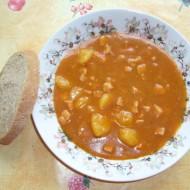 Rychlá gulášová polévka recept