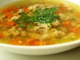 Kuřecí polévka s knedlíčky recept