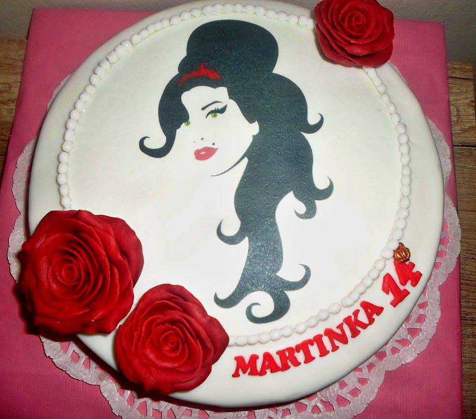 Dort s Amy Winehouse (Amy Winehouse cake) recept