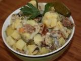 Herinkový salát recept