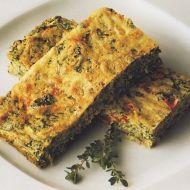 Sýrový koláč se zeleninou recept