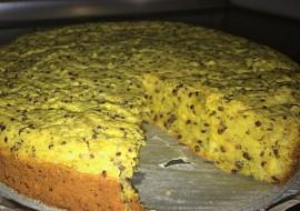 Slaný koláč s quinoou a červenou čočkou recept