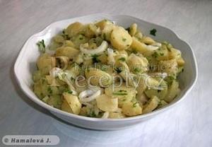 Chorvatský bramborový salát z Dolače