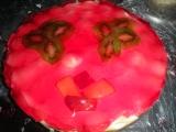 Nepečený dort s ovocem recept