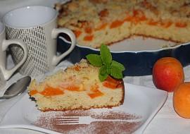 Koláč z tvarohového těsta s meruňkami recept