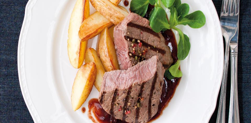 Steaky se švestkovou omáčkou