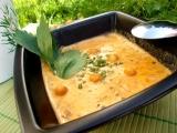 Smetanová polévka s uzenou paprikou recept