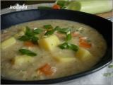 Bramborová polévka s vločkami recept