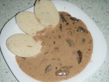 Recept Houbová omáčka