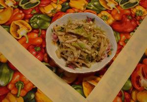 Fenyklový salát s čínským zelím