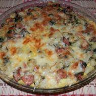 Zapečené gnocchi se špenátem recept