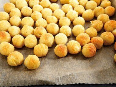 Bramborové smažené kuličky